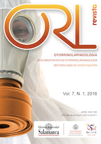 Revista ORL, 2016, vol. 7, n. 1, pp. 1-66.