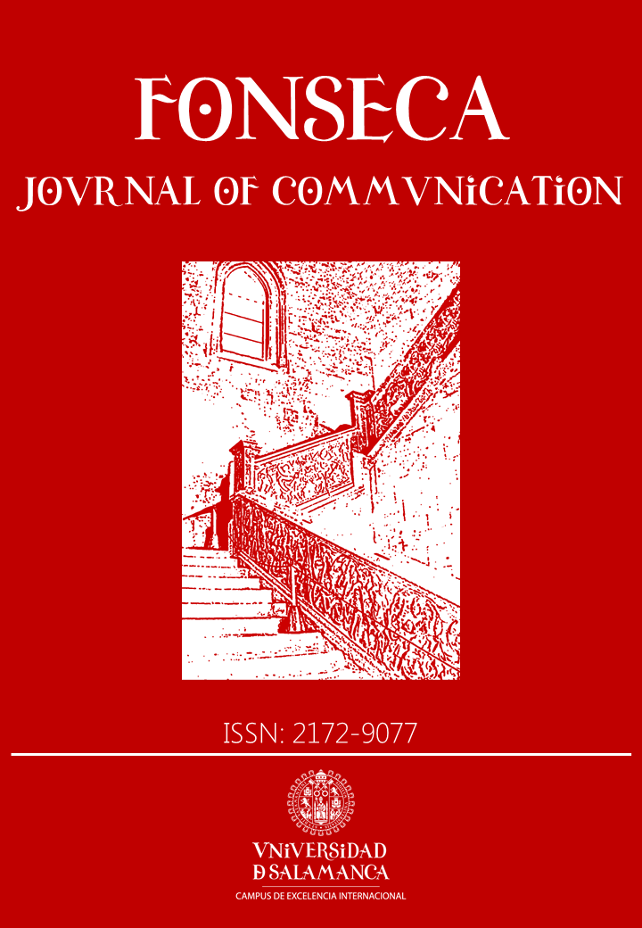 Cubierta de Fonseca, Journal of Communication